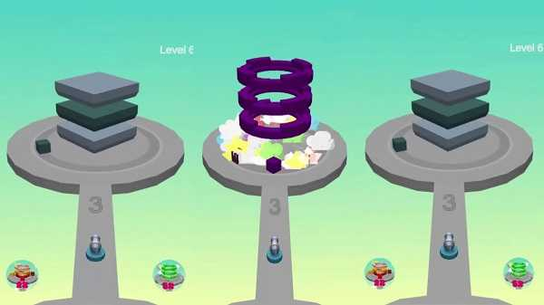 tower ball 3d gra